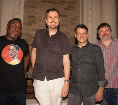 Nate Smith, Karel Ruzicka, John Patitucci, Jon Cowherd (photo Marie Tomanova, 2018)