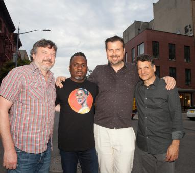 Jon Cowherd, Nate Smith, Karel Ruzicka, John Patitucci (photo Marie Tomanova, 2018)