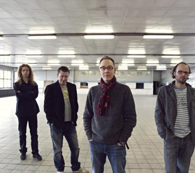 Jan Kořínek, Daniel Šoltis, Steve Walsh, Tomáš Liška (foto Adam Holý)