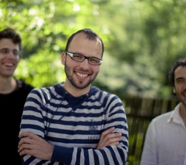 David Dorůžka, Tomáš Liška, Daniele di Bonaventura (photo Adam Holý)