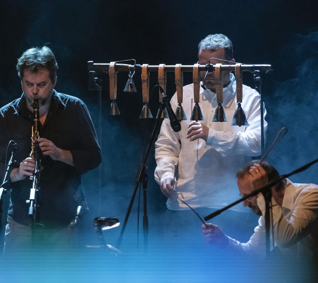 Marcel Bárta, Petr Ostrouchov, Marian Friedl (foto Petra Hajská, 2018)