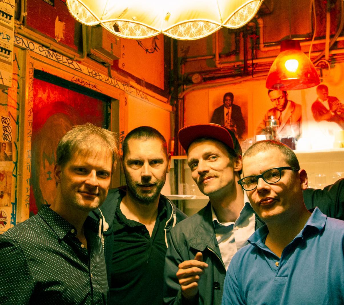 Freetown Quartet (foto Lenka Soukup Procházková)