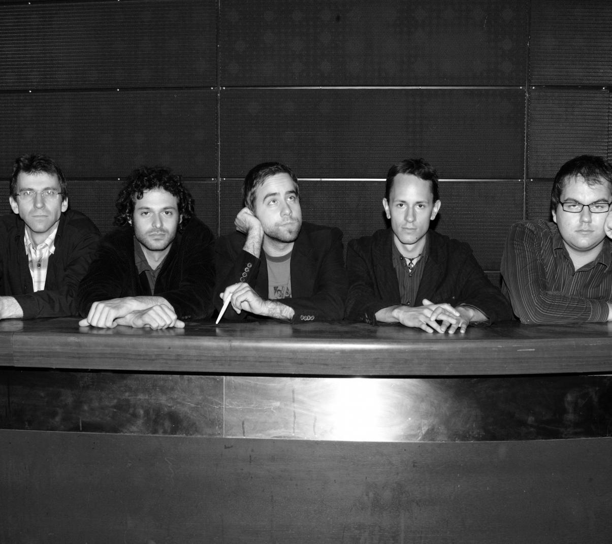 Petr Dvorský, Petr Kalfus, Viliam Béreš, Martin Novák, Miroslav Hloucal (foto Václav Jirásek)