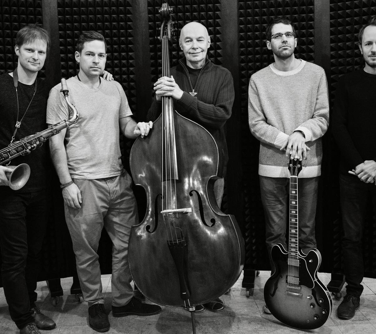 Jaromír Honzák Quintet (foto Zuzana Böhnisch, 2019)