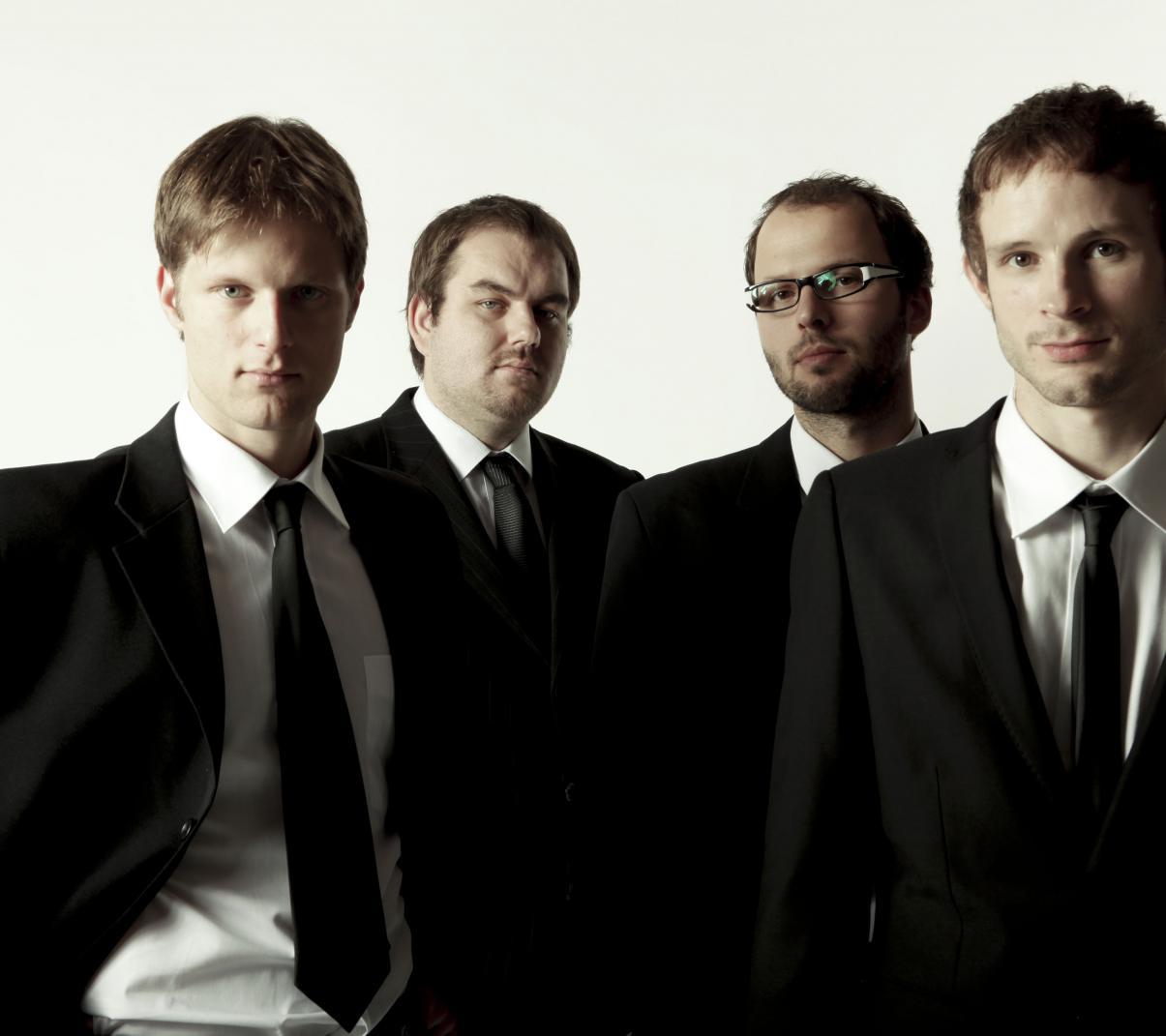 Luboš Soukup, Miroslav Hloucal, Tomáš Liška, Tomáš Hobzek (foto Adam Holý)