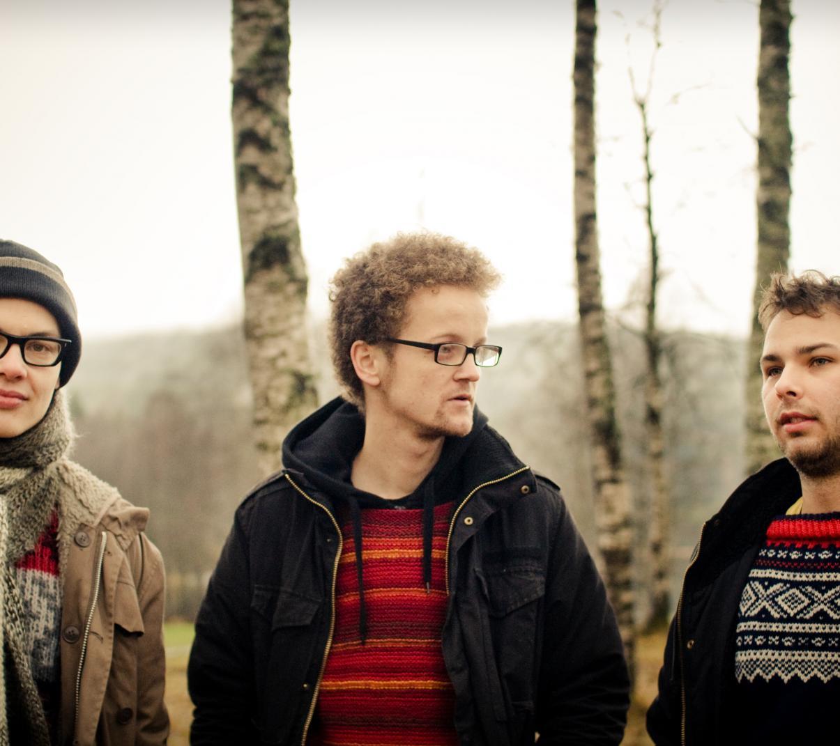 Vojtěch Procházka, Adrian Fiskum Myhr, Tore T. Sandbakken (foto Andreas Ulvo)